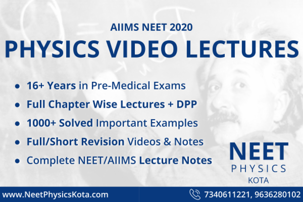 Complete VIDEO Lectures with NOTES of Physics for NEET-AIIMS & Other Pre Medical Exams | All Topics Covered cover
